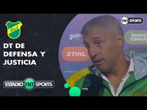 """Hernán Crespo: """"Fuimos los justos ganadores"""""""