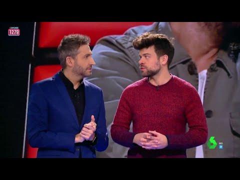 Ricky vuelve a Zapeando para comentar el primer programa de La Voz: