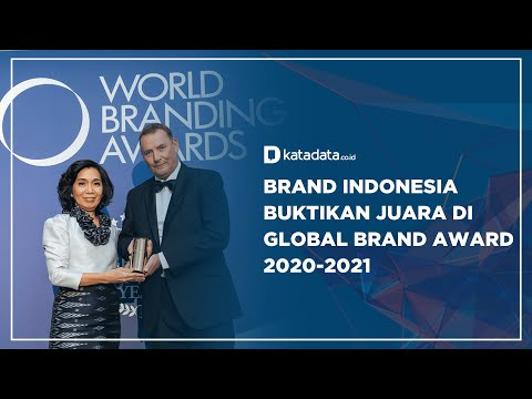 Brand Indonesia Buktikan Juara di Global Brand Award 2020-2021 | Katadata Indonesia