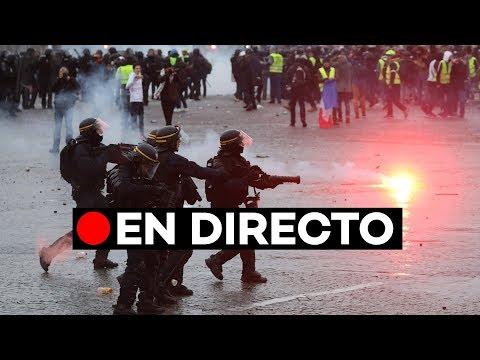 [EN DIRECTO] Los 'chalecos amarillos' toman las calles de París