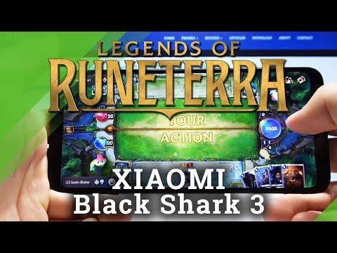 Legends of Runeterra Gameplay in Xiaomi Black Shark 3 – Gaming Performance Test