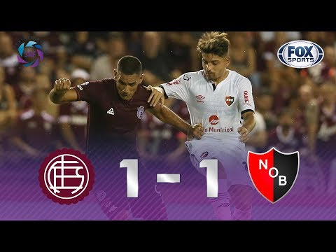 Lanús - Newell´s [1-1] | GOLES | Superliga Argentina Fecha 20 | FOX Sports