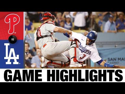 Phillies vs. Dodgers Game Highlights (6/15/21) | MLB Highlights
