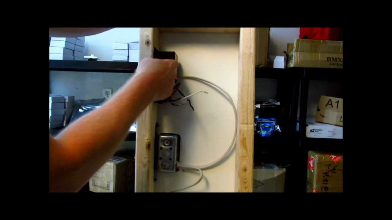 How To Install Led Lights To Wall Dimmer Switch With