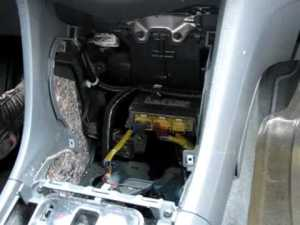 20032007 Honda Accord Storage Pocket RemovalReplacement  YouTube