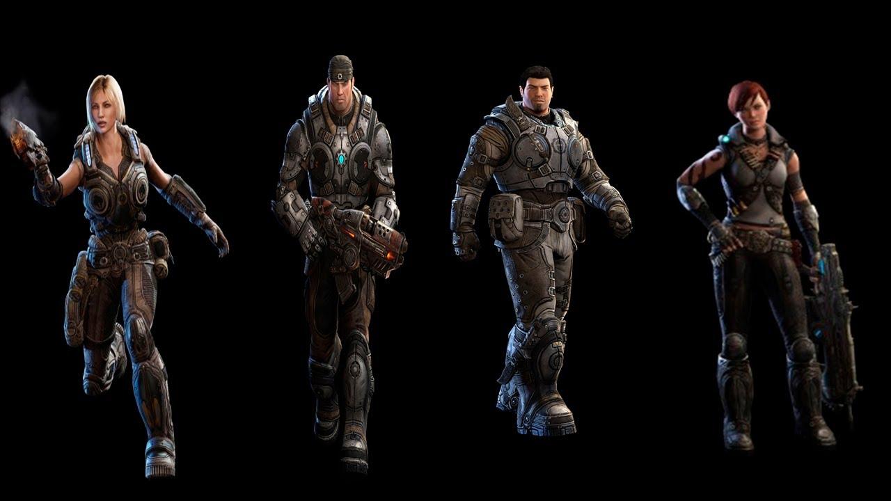 Gears Of War Judgment Preventa Skins Marcus JovenDom