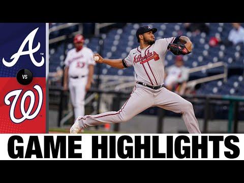 Braves vs. Nationals Game Highlights (5/4/21) | MLB Highlights