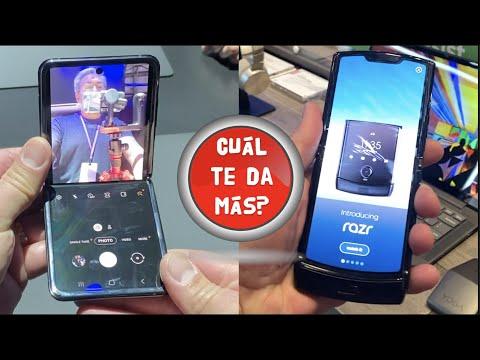 Cuál es MEJOR? La BATALLA de los PLEGABLES Galaxy Z Flip VS Motorola RAZR