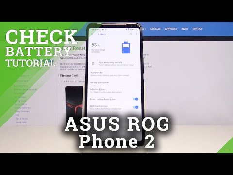 How to Activate Battery Percentage in ASUS ROG Phone 2 – Show Battery Level