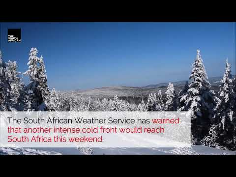 Watch | Snow, rain, and cold are expected for KwaZulu-Natal this weekend