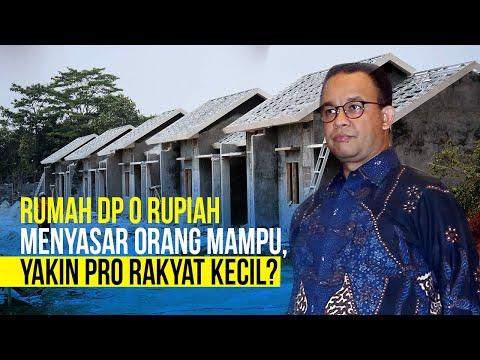 Anies Baswedan Irit Bicara Soal Syarat Terbaru DP 0 Rupiah, Hayo Kecolongan Kah?
