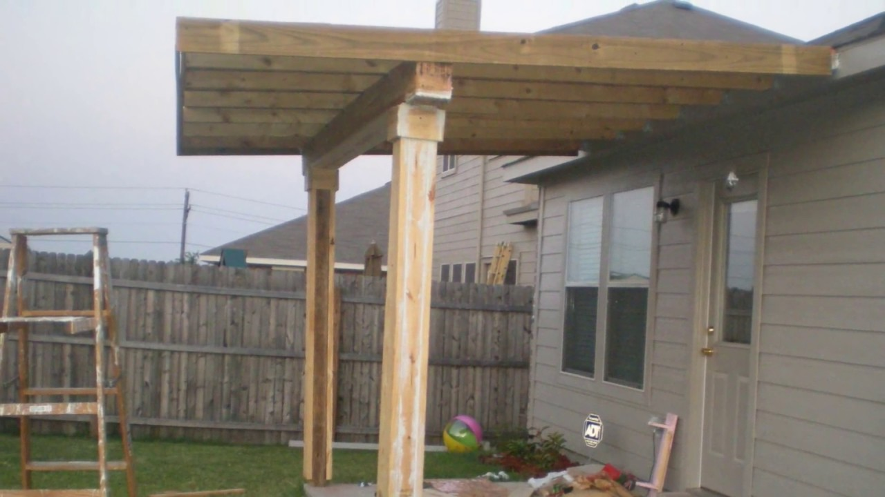 How To Build A Patio Cover Must Watch Youtube