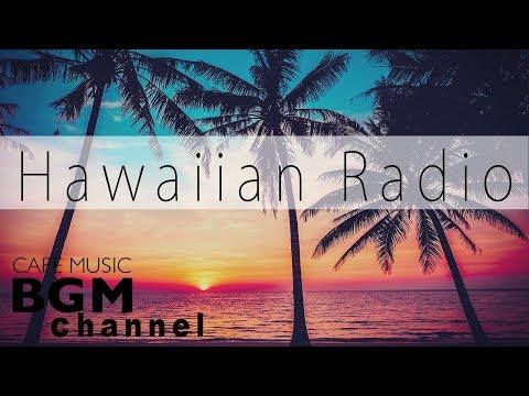Relaxing Hawaiian Music - Ukulele & Guitar Cafe Music - Summer Sunset Music Radio