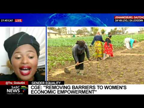 Webinar on challenges experienced by women-owned businesses: Dr. Nthabiseng Moleko