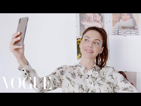 Whitney Cummings Interns at Vogue