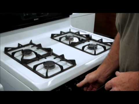 Kenmore Gas Oven Ignitor Problems Stoves Stove Top Drip Pans Pilot Light Range Replacement