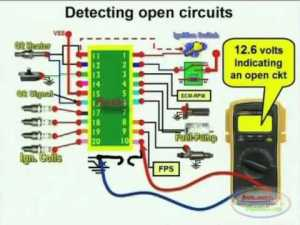 Open Circuit Detection & Wiring Diagram 1  YouTube