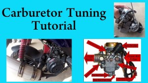 How to tune a carburetor in a GY6 chinese scooter 150 or 50 cc  YouTube