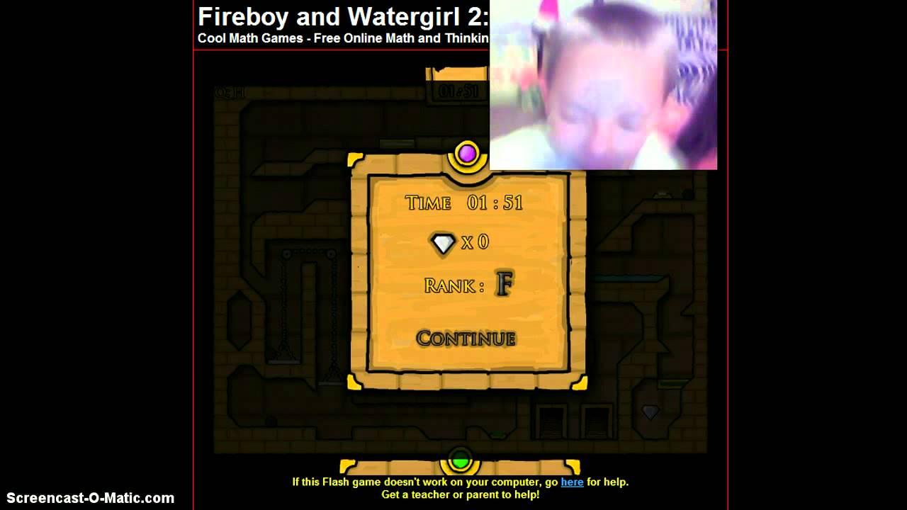 Fireboy Amp Watergirl Cool Math Games YouTube