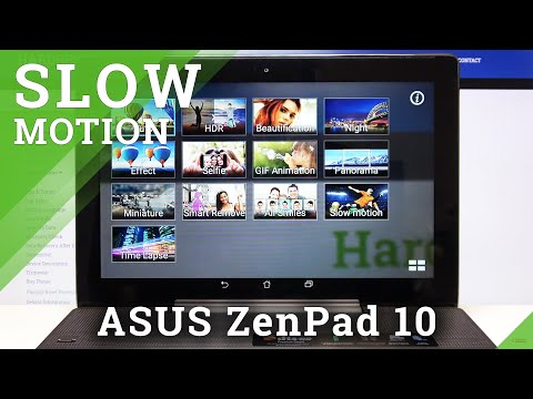 How to Record in Slow Motion in ASUS ZenPad 10 – Record Slower Videos