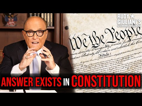MUST WATCH: The ANSWER Exists In CONSTITUTION | Rudy Giuliani | Ep. 91