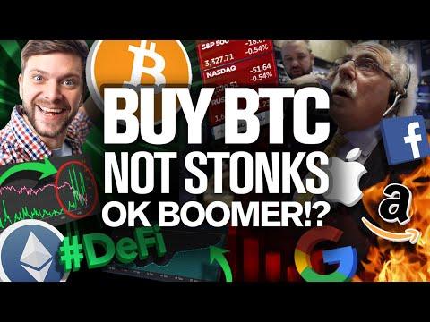Corporate Control Ends NOW! Ok Boomer? So Buy BITCOIN!