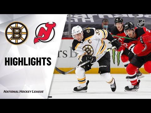 Bruins @ Devils 5/4/21 | NHL Highlights