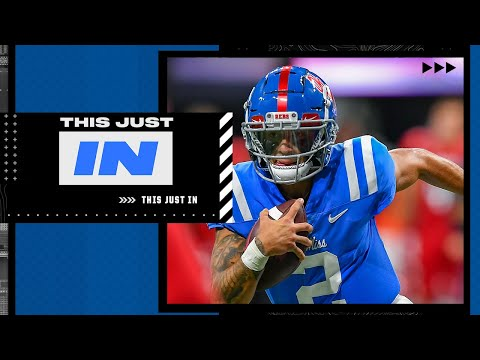 'I smell an UPSET here!'- Max Kellerman on Ole Miss vs Alabama | This Just In