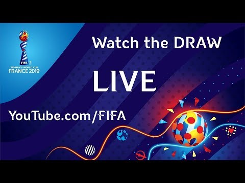 COMING SOON - FIFA Women's World Cup France 2019™ - Watch the DRAW LIVE !