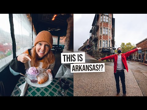 We Found America's MOST CHARMING Town! - Food & City Tour of Eureka Springs, Arkansas ❤️