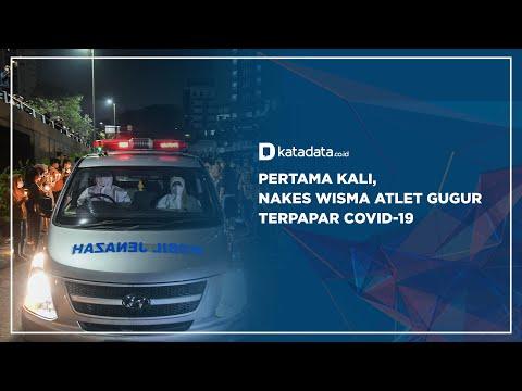 Pertama Kali, Nakes WIsma Atlet Gugur Terpapar Covid-19 | Katadata Indonesia
