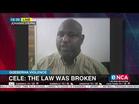 Gqeberha Violence   Reaction   Africa Diaspora Forum