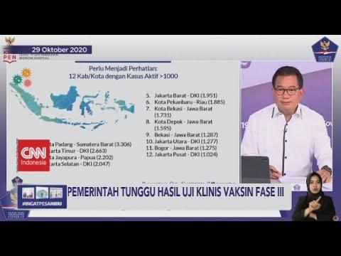 Pemerintah Tunggu Hasil Uji Klinis Vaksin Fase III