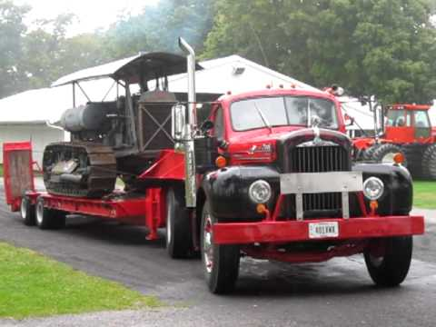 Mack B61 Truck Tractor With Lowboy