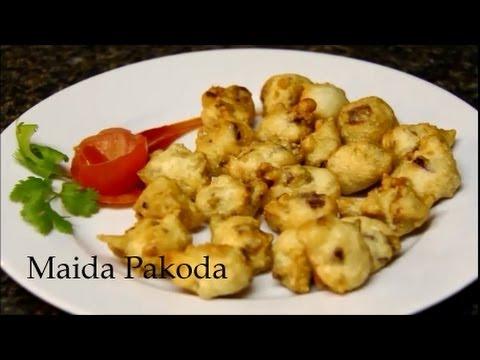 Maida bhajia Recipes | Quick easy to make party starter ...