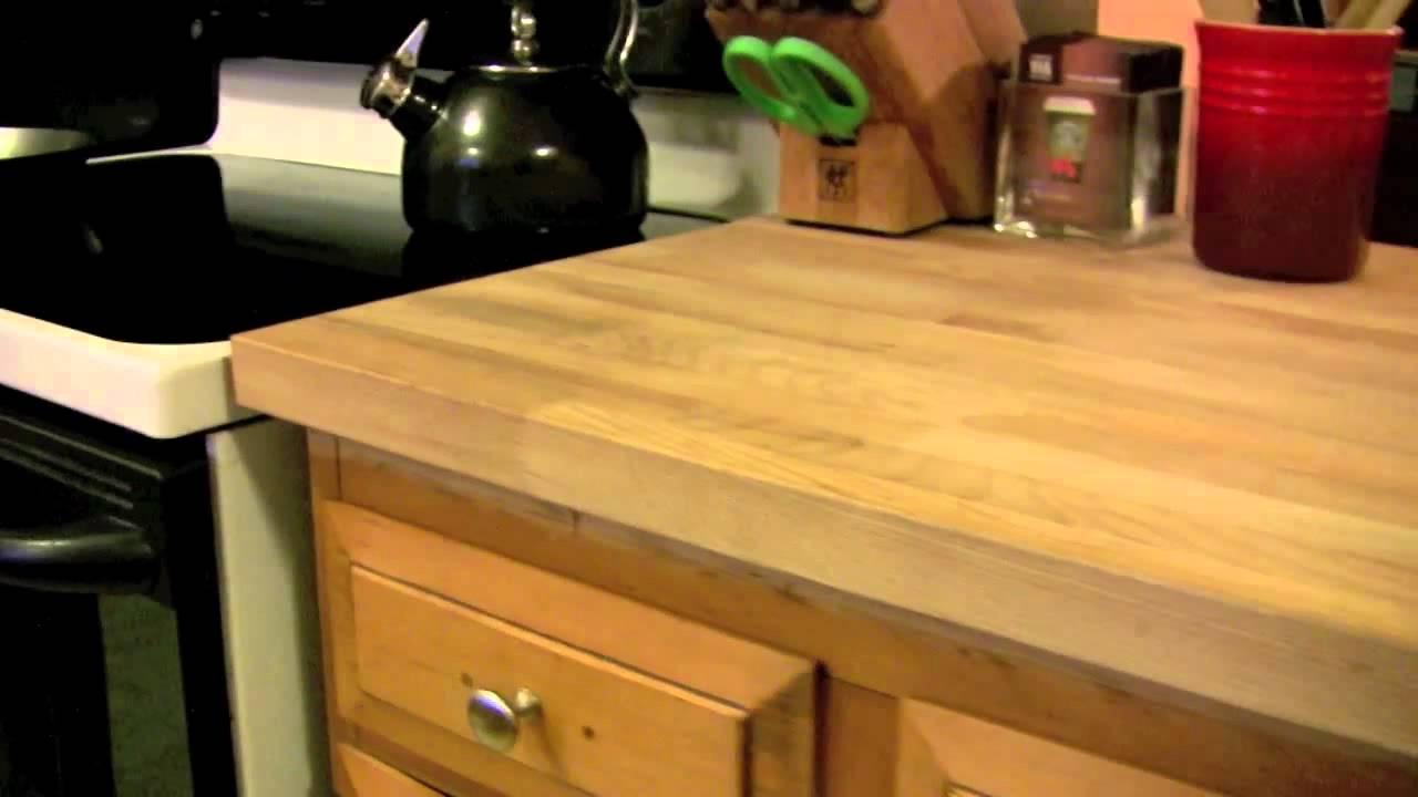 Ikea DIY Kitchen Countertop Numerar - cheap butcher block ... on Modern:0Bjn4Cem9Be= Kitchen Counter  id=14850