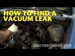 How To Find A Vacuum Leak  EricTheCarGuy  YouTube