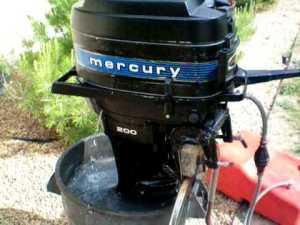 1978 Mercury 200 20HP Outboard Motor  YouTube