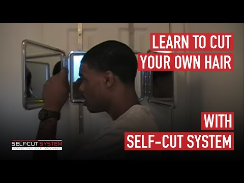 Learn To CUT YOUR OWN HAIR With The Self Cut System YouTube