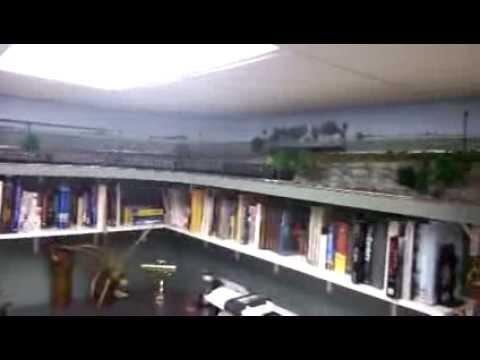Joes O Gauge Railroad Shelf Layout YouTube