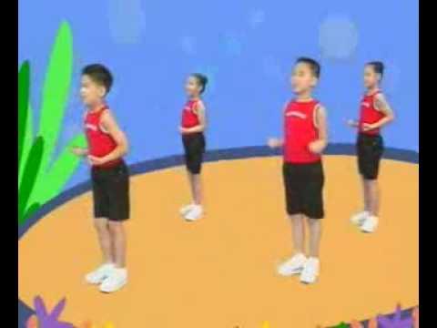 國小低年級健康操影片 - YouTube