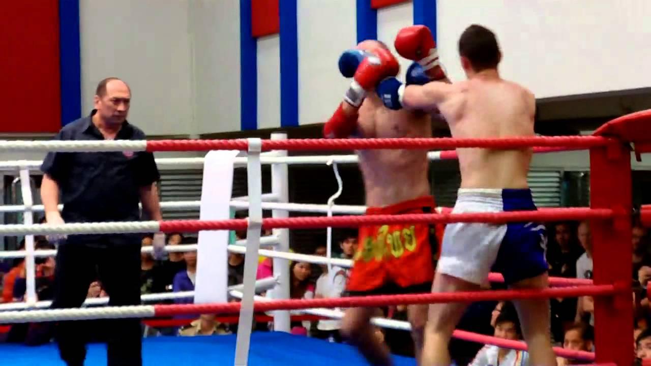 泰拳比賽 2013年中銀香港第五十六屆體育節 第15埸 - YouTube