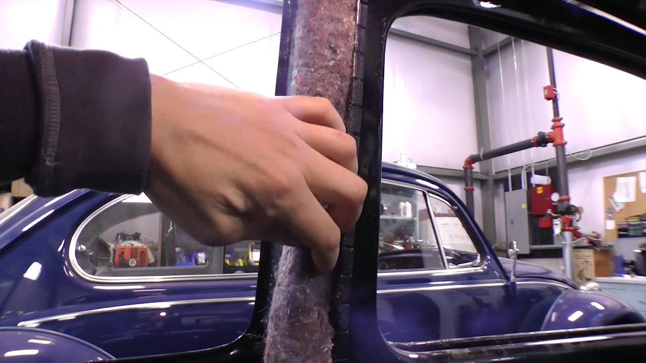 Classic Vw Bugs How To Pad Insulate Door Post For Beetle