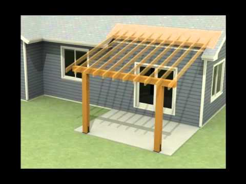 Design Of A Roof Addition Over An Existing Concrete Patio In Bozeman MT Part 1 YouTube