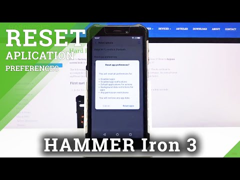 How to Reset App Preferences in Hammer Iron 3 - Remove Apps' Customization