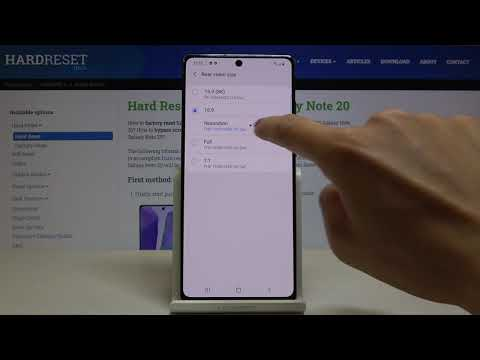 How to Change Video Resolution in SAMSUNG Galaxy Note 20 -Change Video Quality