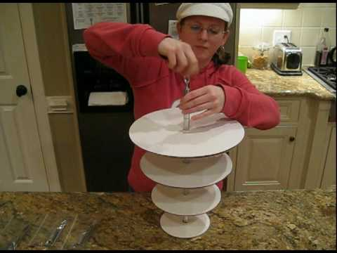 Hanging Cake Stand Upside Down Cakedv YouTube