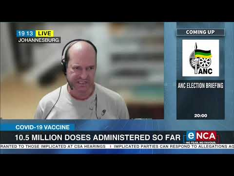 COVID-19 Vaccine   10.5 million doses administered so far