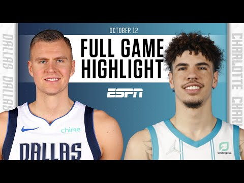 Dallas Mavericks at Charlotte Hornets   Full Game Highlights