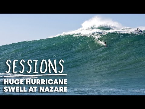 Hurricane Epsilon Brings Monstrous Waves To Nazaré | Sessions